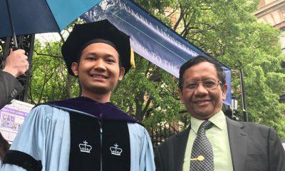Ini Sosok Royhan Akbar, Putra Bungsu Mahfud MD yang Dikepoin Netizen. (FOTO: Dok. Pribadi/Mahfud MD)