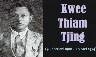 Jurnaslis Indonesia Berdarah Tionghoa, Kwee Thiam Tjing. (FOTO: NUSANTARANEWS.CO)