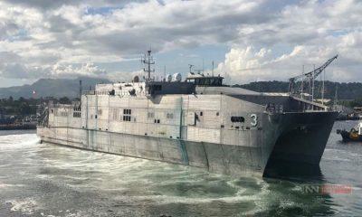 Kapal Ekspedisi USNS Millinocket AS (Foto: Todd Kutkiewicz/Nusantaranews)