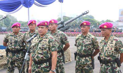 Kasal Bangga Nusantara Dipenuhi Baret Marinir