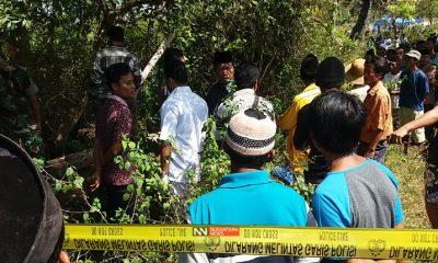 Kondisi di TKP korban dibuang ke dalam sumur (Foto Dok. Nusantaranews)