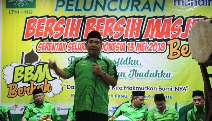 LTM PBNU Deklarasikan BBM Demi Mencegah Politisasi Masjid. (FOTO: Istimewa)