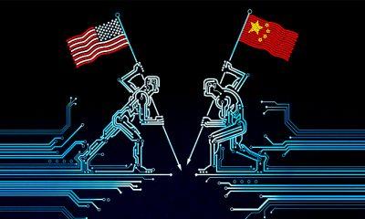Lawan Pencurian Teknologi, Visa Mahasiswa Cina Jurusan Teknologi Dibatasi di AmerikaLawan Pencurian Teknologi, Visa Mahasiswa Cina Jurusan Teknologi Dibatasi di Amerika. (FOTO: NN/The Economist/ David Parkins)
