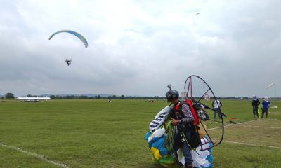 lettu inf moch aly, paralayang, paramotor, atlet paralayang, kejuaraan paralayang, kejuaraan paramotor,