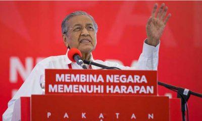 Mahathir Mohamad Pidato