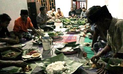 Megengan, Tradisi Warga Ponorogo Sambut Bulan Ramadhan. (FOTO: NUSANTARANEWS.CO/Muh Nurcholis)