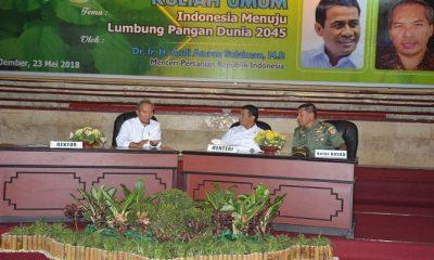 menteri pertanian, mentan, amran sulaiman, mentan amran, indonesia lumbung pangan, lumbung pangan dunia, produksi pangan indonesia, kebutuhan pangan, unej jember, swasembada pangan, kedaulatan pangan, menteri amran,