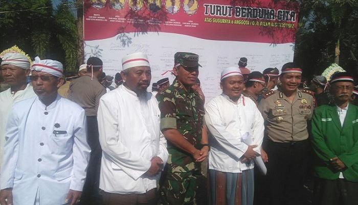 Mojokerto Kutuk Aksi Teror di Surabaya