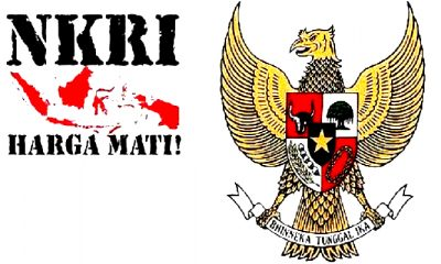 NKRI dan Garuda Pancasila. (Foto: Istimewa)