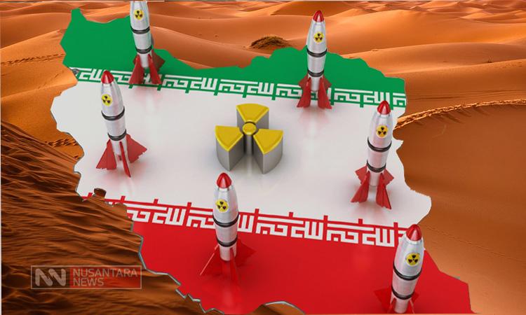 Nuklir Iran (Ilustrasi Nusantaranews)
