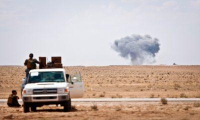 Operasi Penyerangan ISIS (Foto By Timothy Koster/Nusantaranews)