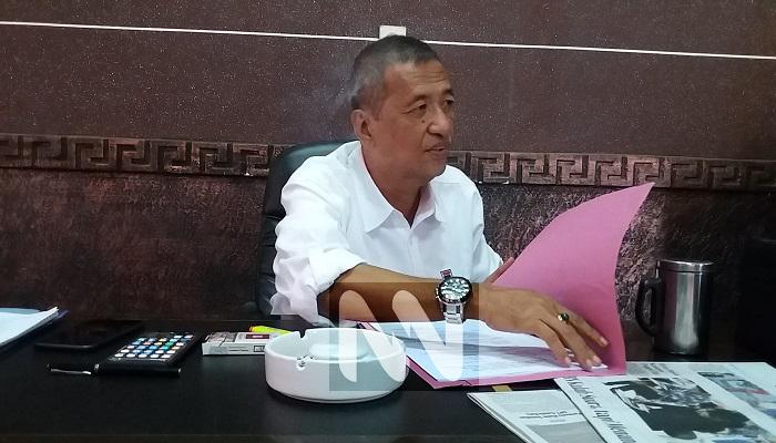 Bambang Iriyanto Kepala Dinas Pekerjaan Umum (PU) Perumahan Rakyat, Kawasan Permukimam, (PRKP dan Cipta Karya) Sumenep. (Foto: NUSANTARANEWS.CO/Danial Kafi)