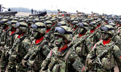 Pasukan Militer Indonesia (Ilustrasi)