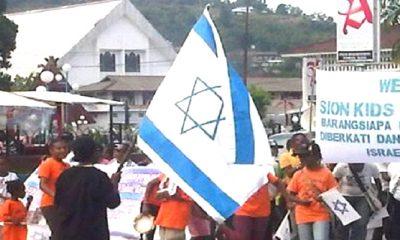 bendera israel, bendera israle papua, pengibaran bendera israel, bintang daud, lambang tauhid kristen, lambang tauhid nasrani, bendera bintang daud, konflik palestina-israel, orang papua, yesus keturunan daud, simbol israel, lambang bintang daud, bani israel, bendera bani israel, nusantaranews