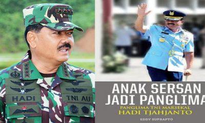 Penulis Buku Anak Sersan Jadi Panglima Ceritakan Biografi Marsekal TNI Hadi Tjahjanto