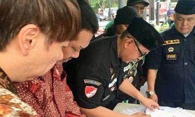 K.A.I tandatanganani Nota Kesepahaman dan Kerjasama dengan organisasi transportasi jasa online PPTJDI dan TEKAB. (FOTO: NUSANTARANEWS.CO/Istimewa)