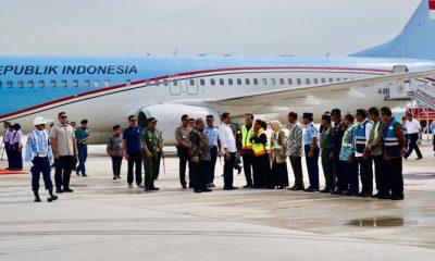 Resmi Beroperasi, Jokowi BIJB Siap Layani Mudik Lebaran 2018. (FOTO: Muchlis Jr/Biro Pers Setpres)