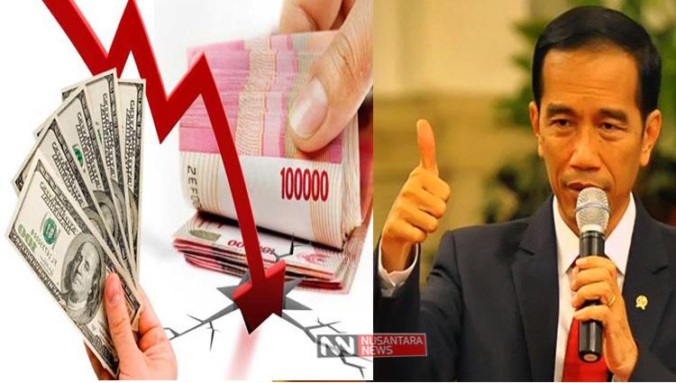 Rupiah Melemah (Ilustrasi/Nusantaranews)