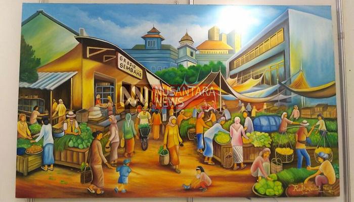 bupati sumenep, visit 2018, pemerintah sumenep, kh abuya busyro karim, pameran lukisan pesona indonesia, gedung adipoday, pelukis indonesia, komitmen pemda sumenep, pameran lukisan sumenep, seniman lukisan sumenep, lukisan sumenep