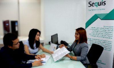 Nasabah Sequis sedang mendapatkan penjelasan mengenai produk dan layanan Sequis, Jakarta, 30 Mei 2018. (FOTO: NUSANTARANEWS.CO/Sequis)