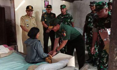Sebagai Prajurit TNI, Ini Empati Kasdam Brawijaya Kepada Masyarakat. (FOTO: NUSANTARANEWS.CO/Arief Safuan)