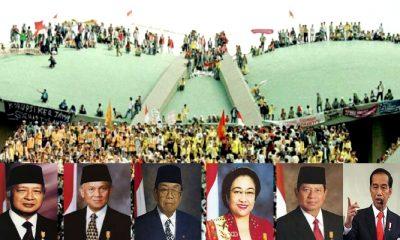 reformasi, reformasi 98, gerakan reformasi, amanat reformasi, amandemen uu 45, kepemimpinan soeharto, kepemimpinan jokowi, kepemimpinan megawati, kepemimpinan gus dur, kepemimpinan sby, kepemimpinan bj habiebie, nusantaranews, sejarah indonesia, nasib rakyat indonesia,