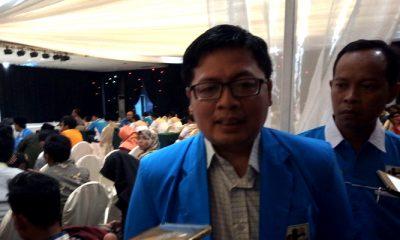 Sekretaris Jendral DPP KNPI Indra Damarjati. (FOTO: NUSANTARANEWS.CO/Setya)