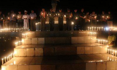 aksi seribu lilin, warga perbatasan, perbatasan indonesia-papua nugini, satgas pamtas, boven digoel, korban aksi terorisme
