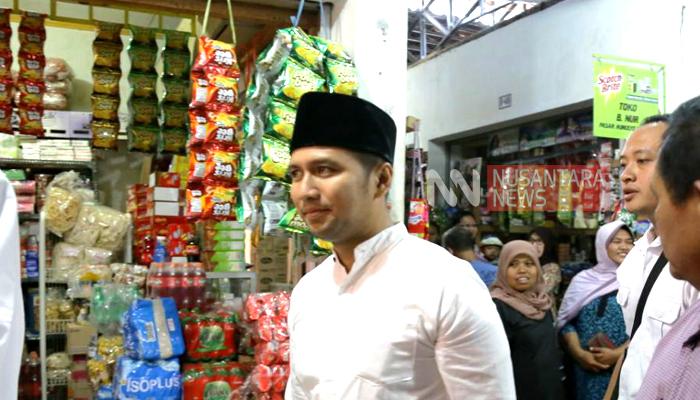 Sisir Wilayah Selatan Jatim, Ini Janji Emil Dardak Jika Menang!. (FOTO: NUSANTARANEWS.CO/Tri Wahyudi)