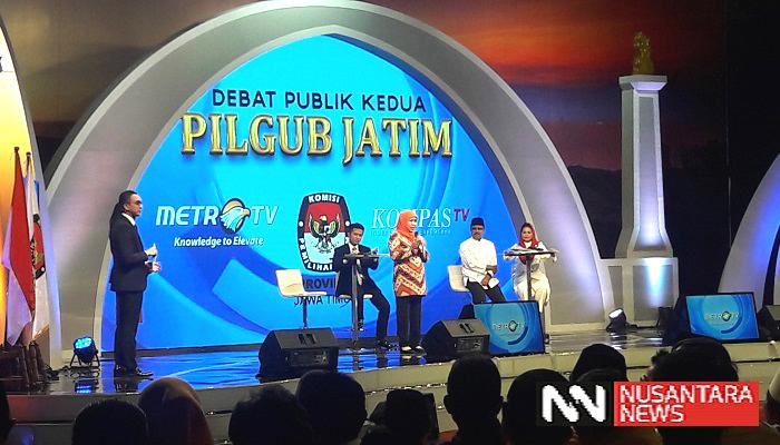 Sukowi Kritik Penampilan Gus Ipul-Puti dalam Debat Pilgub Jatim 2018