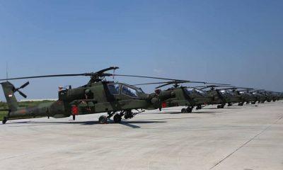 helikopter, tni ad, helikopter serang, helikopter apache, helikopter ah-64e, ah-64e apache, menteri pertahanan, lanud ahmad yani