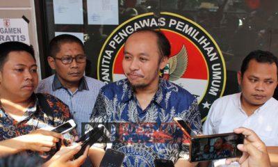 Ketua Panwaslu Lamongan, Tony Wijaya. (FOTO: NUSANTARANEWS.CO/Setya)
