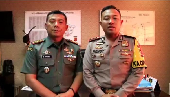 Tantang Kopassus dan Marinir, Kapolres Karawang Minta Maaf