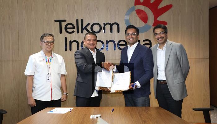 telkom, cisco, telkom-cisco, dian rachmawan, kolaborasi telkom-cisco, naveen menon, teknologi cisco, bisnis digital telkom, nusantaranews