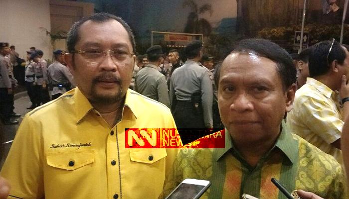 Zainuddin Amali Restui Sahat Tua Simanjuntak Maju Pemilihan Ketua Golkar Jatim