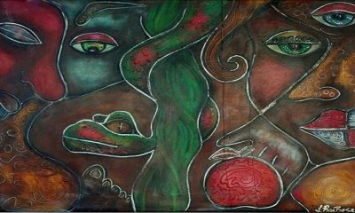 Adam and Eve - by Laura Barbosa (Foto: Abstract Representational Art Gallery)