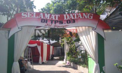 Besok Gus Ipul Bersama Keluarga akan Nyoblos di TPS 03 Gayungsari. (FOTO: NUSANTARANEWS.CO/Setya)