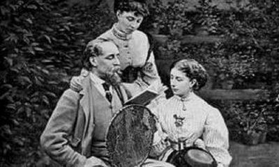 Charles Dickens dan keluarga. (FOTO: The Guardian)