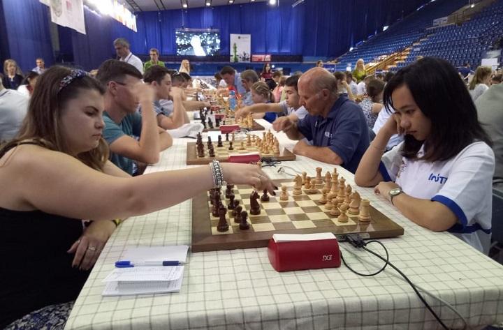 Chelsie Monica Sihite, Mahasiswa Perbanas Raih Juara Catur Internasional di Belarusia. (FOTO: NUSANTARANEWS.CO/Adi D.)