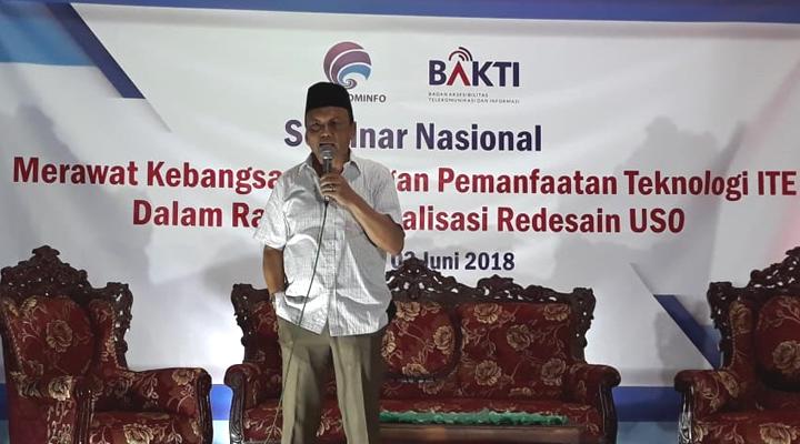 Anggota Komisi I DPR RI, Syaiful Bahri Anshori. (FOTO: NUSANTARANEWS.CO/Ucok Al Ayubbi)