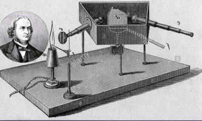 Ilmuan Gustav Kirchhoff dengan temuan teori rangkaian listrik (Ilustrasi/Nusantaranews)