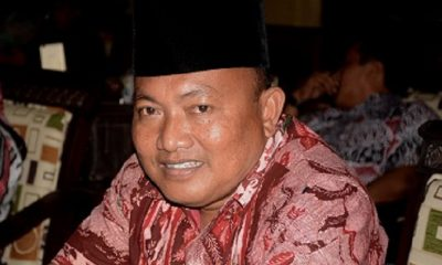 Hosaini Adhim Ketua Komisi I DPRD Kabupaten Sumenep. (FOTO: NUSANTARANEWS.CO/Mahdi Al Habib)