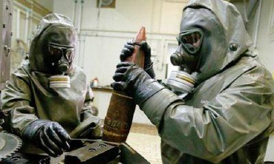 Ilustrasi Senjata Kimia. (FOTO: NUSANTARANEWS.CO/Istimewa)