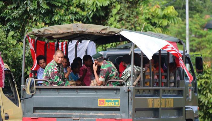 boven digoel, distrik mindiptana, distrik waropko, goa maria, satgas pamtas yonif raider 500 sikatan, perbatasan indonesia-papua nugini