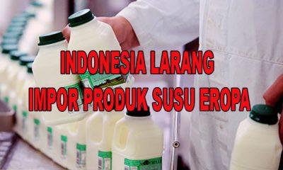 Indonesia Balas Akan Melarang Impor Produk Susu dan Pesawat Terbang Asal Eropa