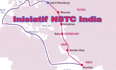 Inisiatif Perdagangan North-South Transport Corridor (NSTC) India