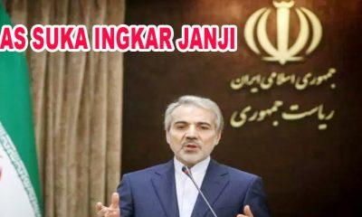 Iran- AS Bisa Batalkan Perjanjian Denuklirisasi Semenanjung Korea Kapan Pun