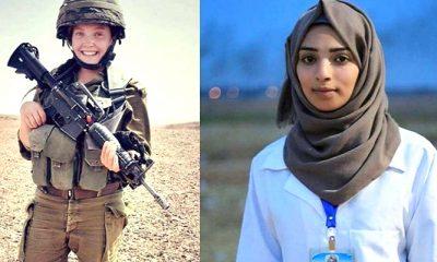 meet rebecca, jalur gaza, razan al-najjar, tim media palestina, petugas media gaza, petugas media paslestina, tentara wanita israel, israel tembak warga palestina, protes jalur gaza, nusantaranews