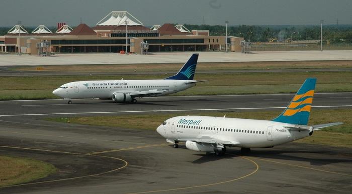 Garuda Indonesia dan Merpati Airlines