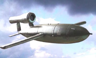 Rudal Vergeltungswaffe 1 (V-1) atau Fieseler Fi 103, atau The WWII V-1 Doodle Bug Flying Bomb. (Foto: Wikipedia)